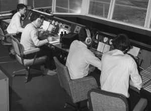 EGFF aerodrome and approach control tower VCR June 1970