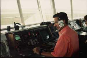 EGFF Aerodrome control in tower VCR Nov 1997