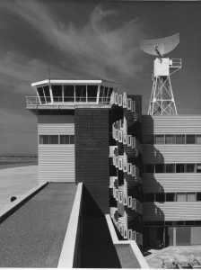 EGFF control tower and radar new build Sept 1972
