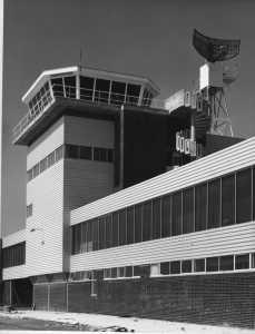 EGFF control tower new build 1 September 1972