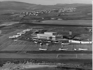 EGPB 1980, New Terminal and Apron Sumburgh
