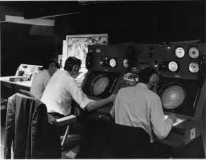 EGPK Approach and approach radar control 1970