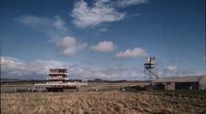 EGPK tower and radar head