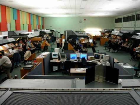 General view of the ops room from above BRS_CAR_23