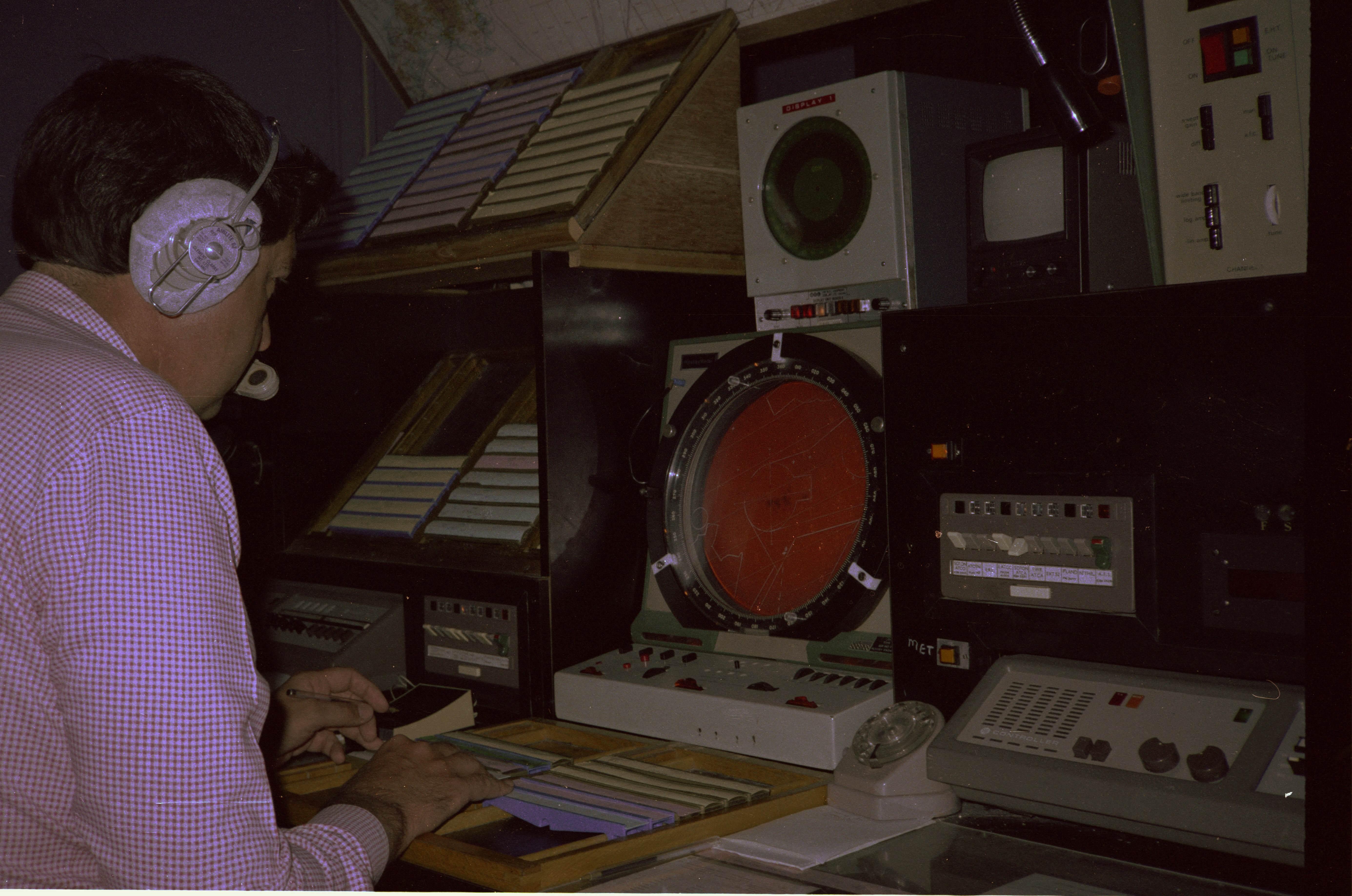 HH Approach Radar, 1980s, Brian Hutt
