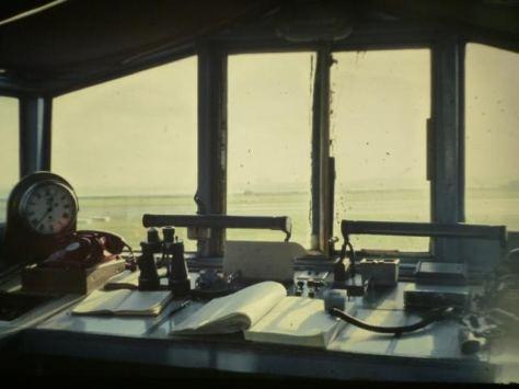 Interior of Runway Control Van (touchdown Rwy 27)