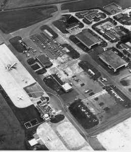 inverness tower 1979 in context on airfield