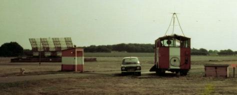 Manchester Runway Caravan & S264 Radar 1970s
