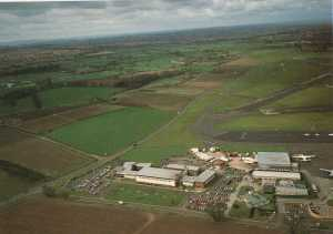 NEW 1962 building in 80s aerial view