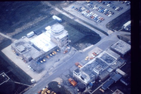 old KK tower from above