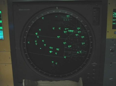 Radar display Sector 23