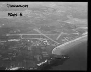 Stornoway from E