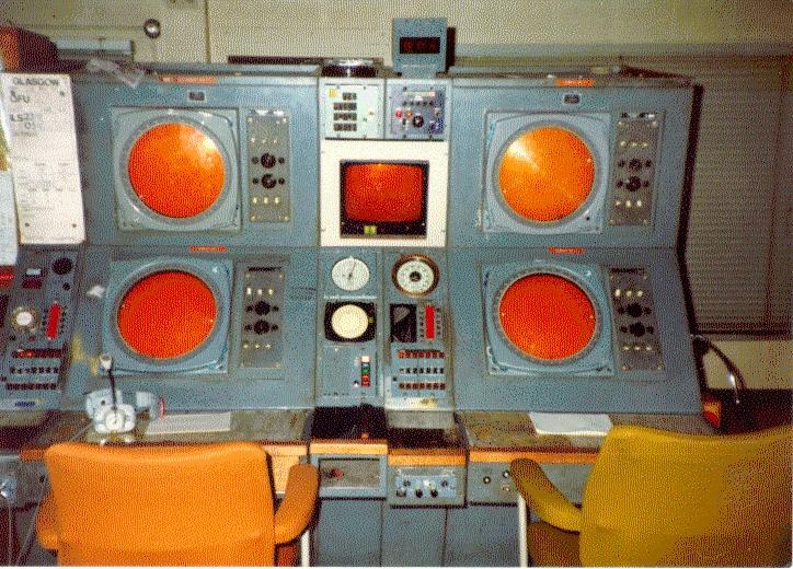 Glasgow Approach Radar nov 82 1