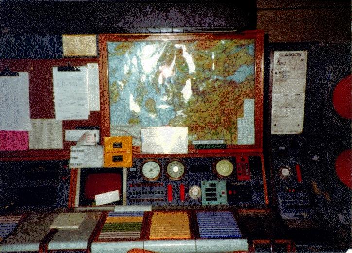 Glasgow Approach Radar nov 82 2