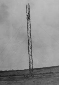 mast RAF Aldergrove 1948 maybe on Divis or Black Mountain (1)