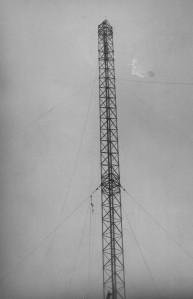 mast RAF Aldergrove 1948 maybe on Divis or Black Mountain (2)