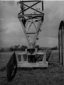 mast RAF Aldergrove 1948 maybe on Divis or Black Mountain (3)