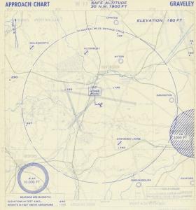 Approach Chart Graveley 17 Oct 1952