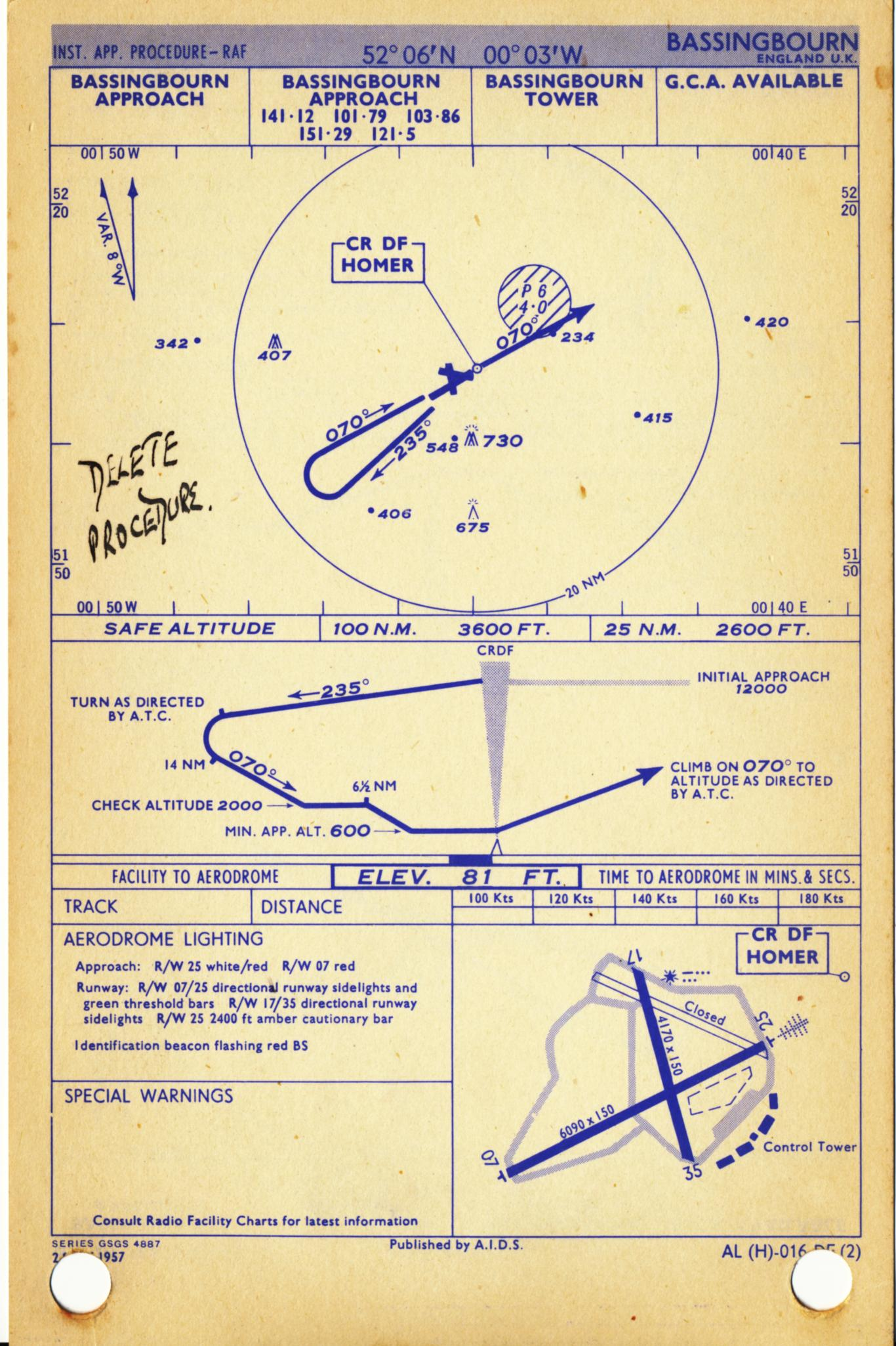 BA Chart 937 Eastern Approaches to Hong Kong