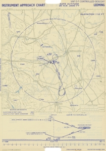 RAF_Leeming_Instrument_Approach_Chart_May 1952