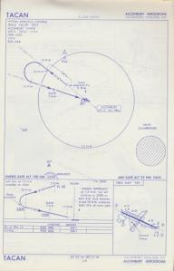 TACAN Approach Plate Alconbury November 1966