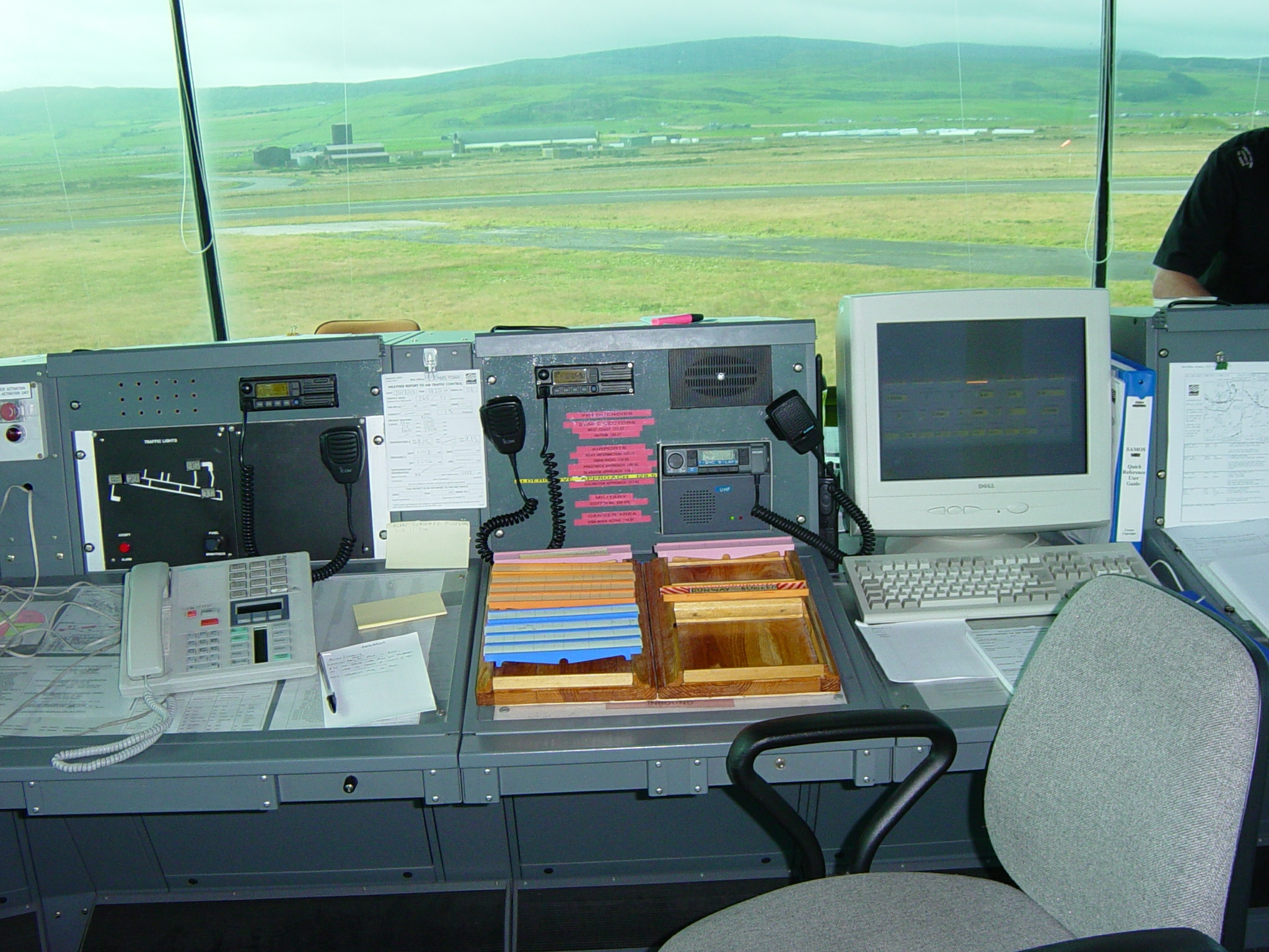 new EGEC Campbeltown Airport (RAF Machrihanish) Tower