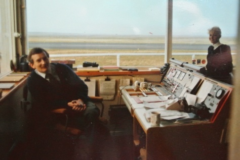 stornoway tower with loganair PA mid 80s