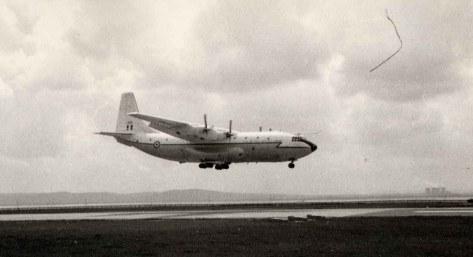 EGGP RWY 28 RAF Belfast Training 1967