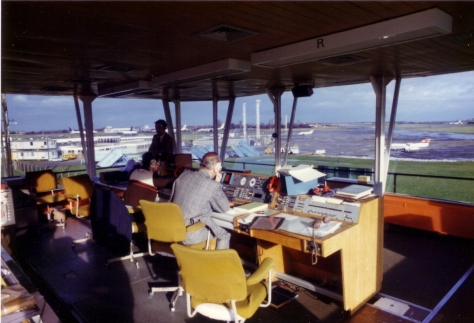Stansted VCR Interior early 1980 - Tony Foster John Vann Ron McQuaker