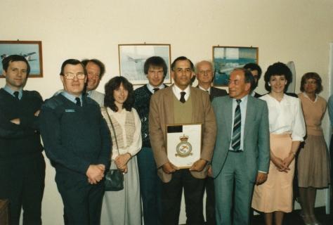 1987 May, Eastern, Winston Boardman retirement