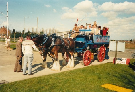 1988 Mar, Abels tour of Watton for Eastern civil staff