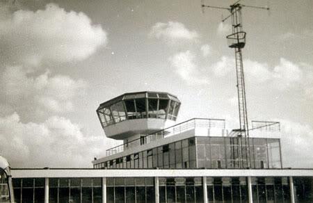 Renfrew Control Tower 1960