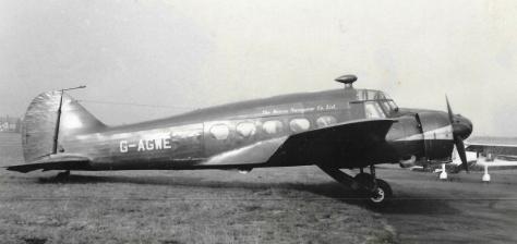 croydon 1950s decca anson