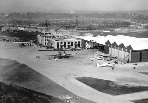 croydon aerial view 1020s