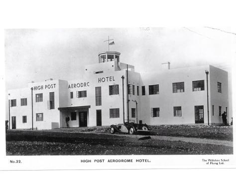 High Post AD 1930s
