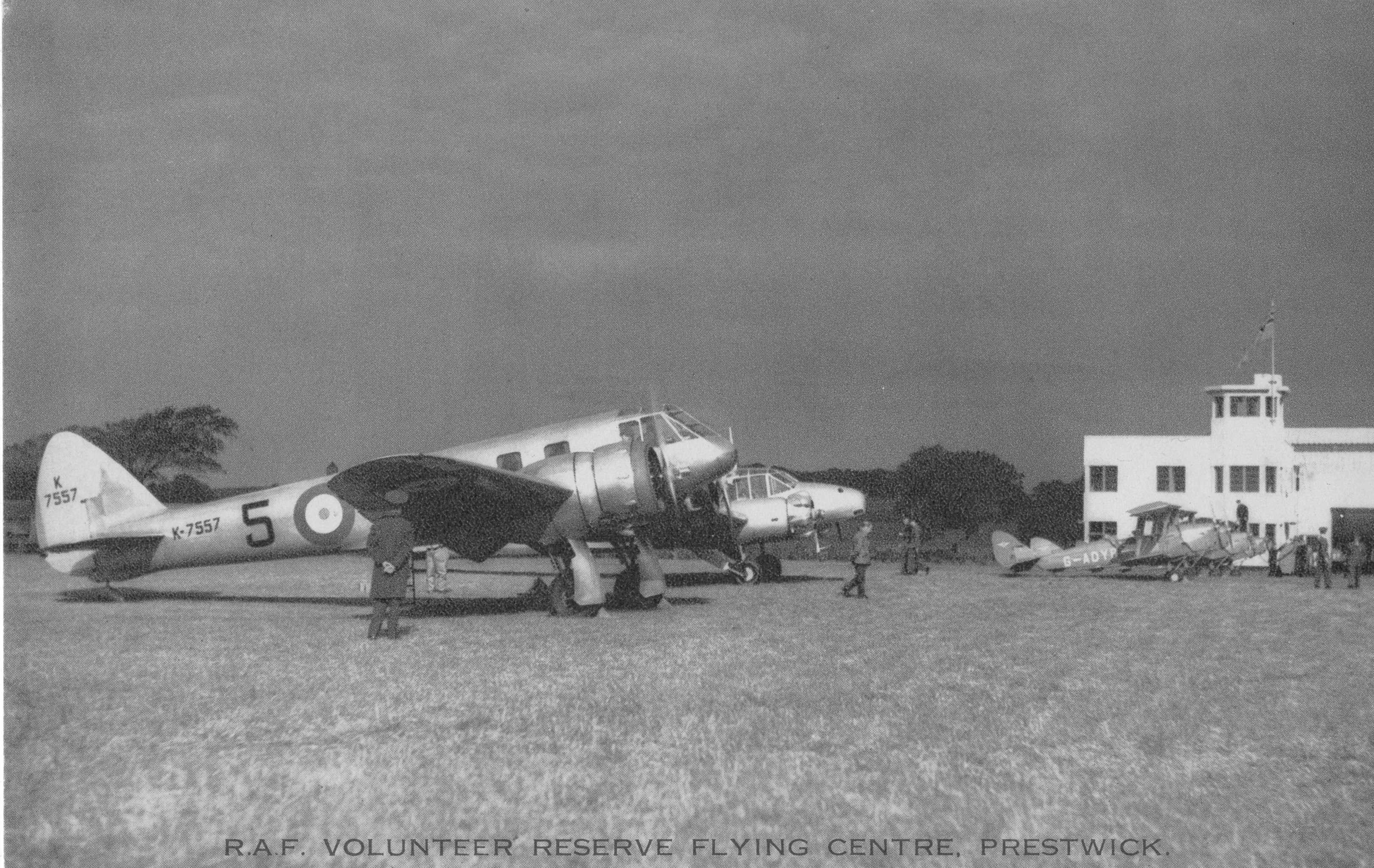 Prestwick, RAF Volunteer Reserve Flying Centre