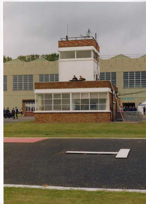 RAF Cosford tower, an original pre-war 'fort' type