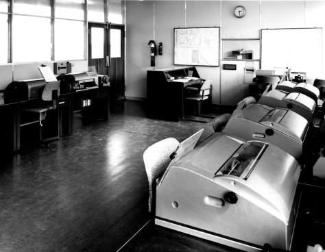 teleprinter-room