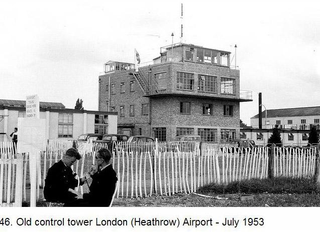 Heathrow tower 1953