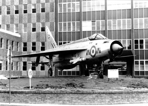 RAF WD Lightning 1977