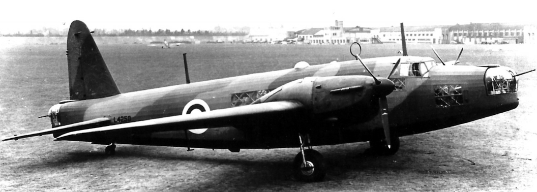 wellington L4250 Converted from a Mk I to the prototype Mk II brooklands