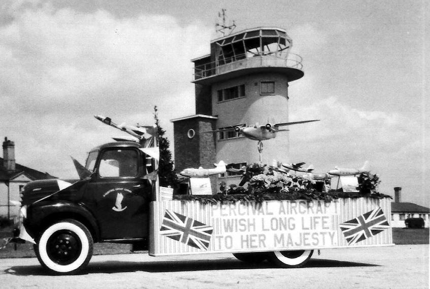 A Percival float 1953 Coronation Luton