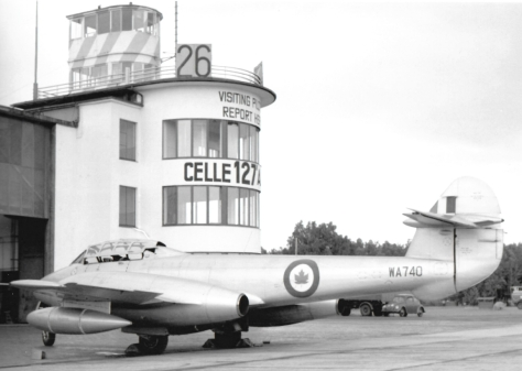 RAF Celle control tower