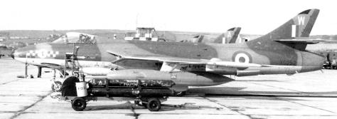 1967 RAF Chivenor 54 Sqdn Hunter