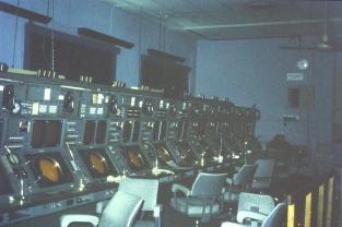 LATCC Radar 1970 - radar consoles