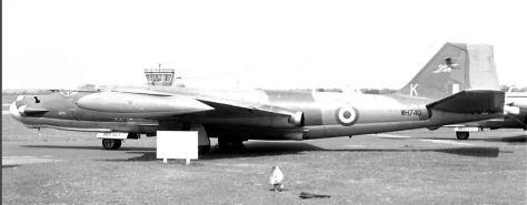 WH740 K Canberra T17 360 Squadron Cottesmore