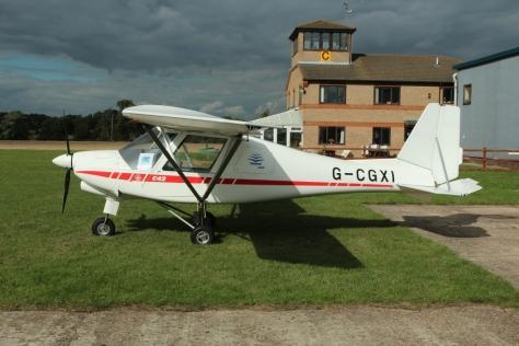 Icarus C42 G-CGXI at Peterborough TS