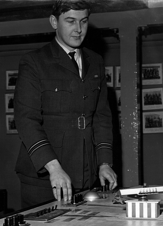 Flt Lt Mac McDonald