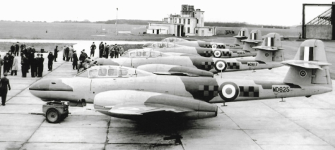 gloster meteor NF11 85 squadron