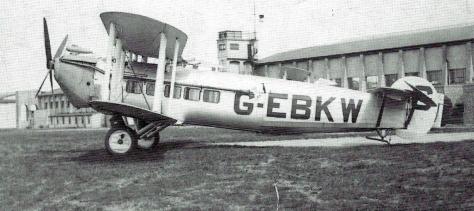 Bircham Newton Avro Andover G-EBKW